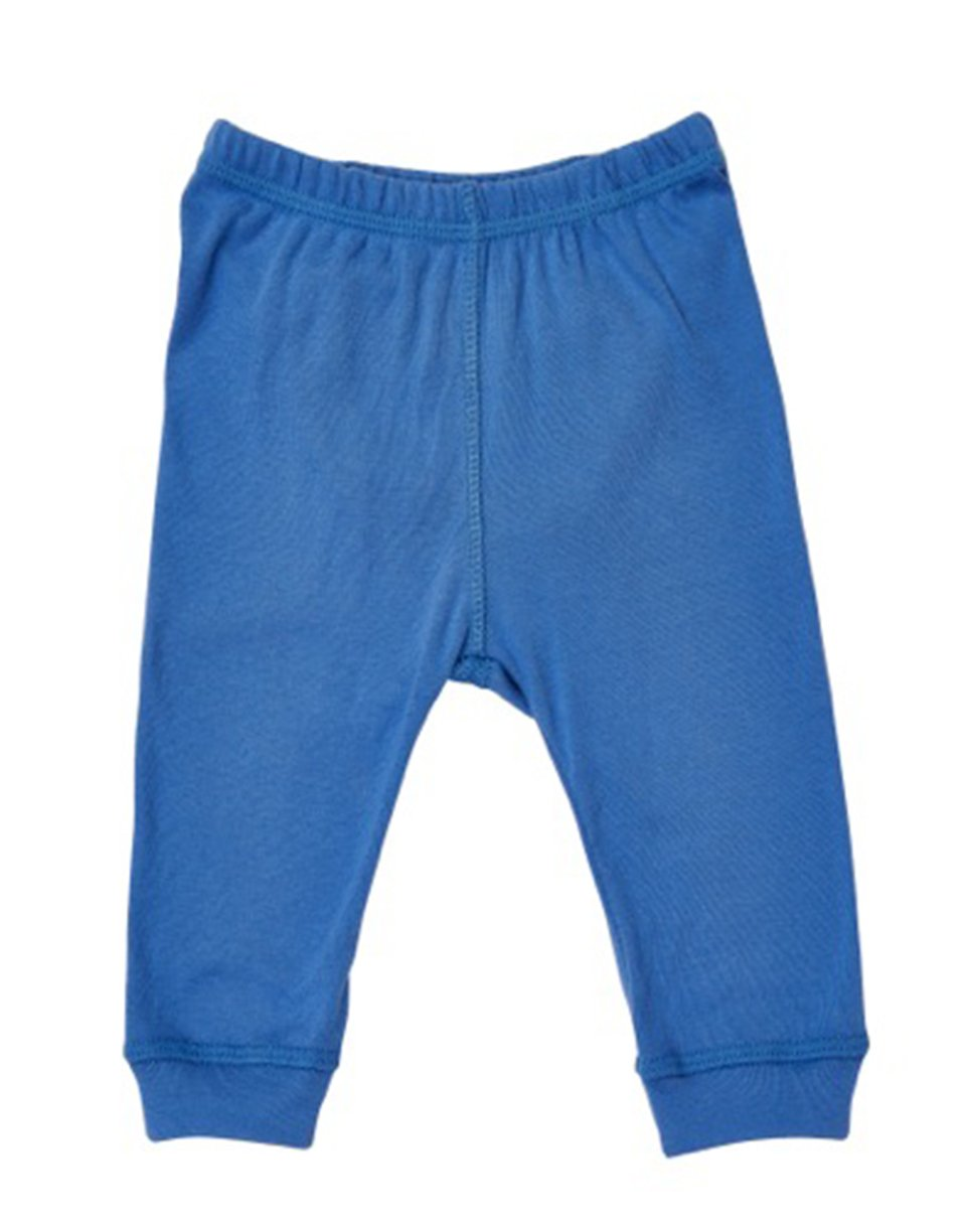 Blue organic kids pajamas