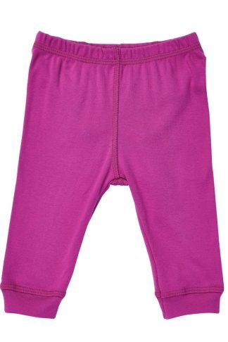 Fuchsia organic children pajamas