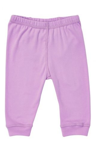 Purple organic pajamas made in the USA