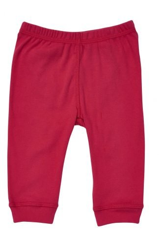 Red organic children pajamas