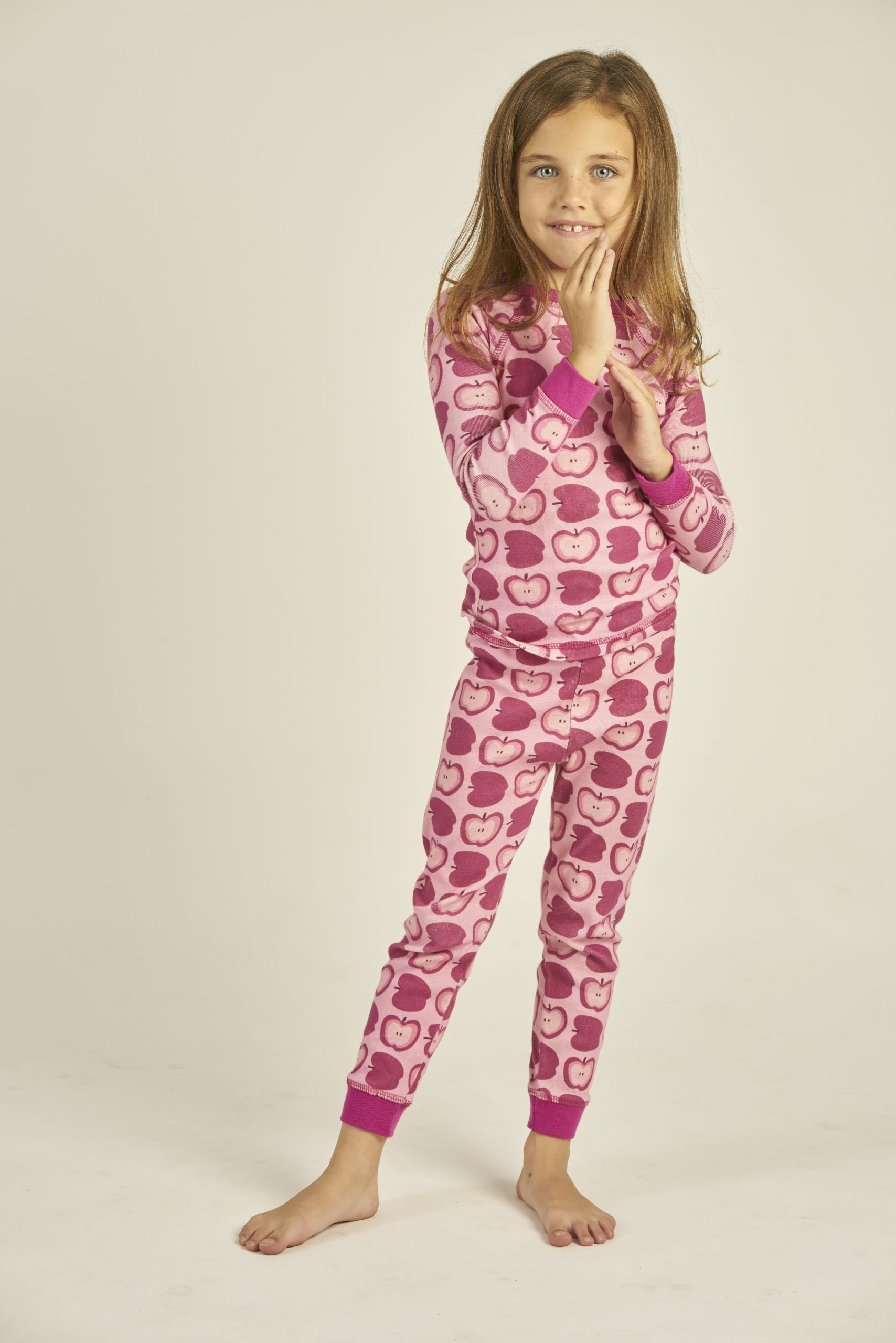 girl in pajamas