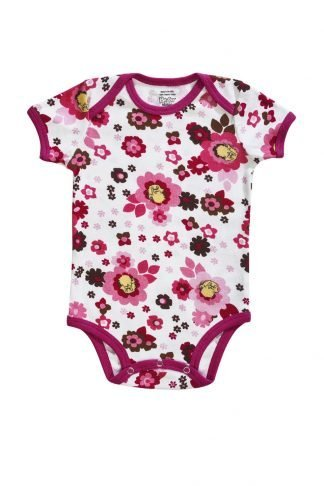 organic cotton floral onesies