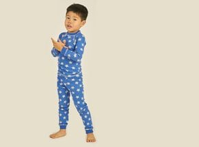 Organic Cotton Pajamas Boy Model