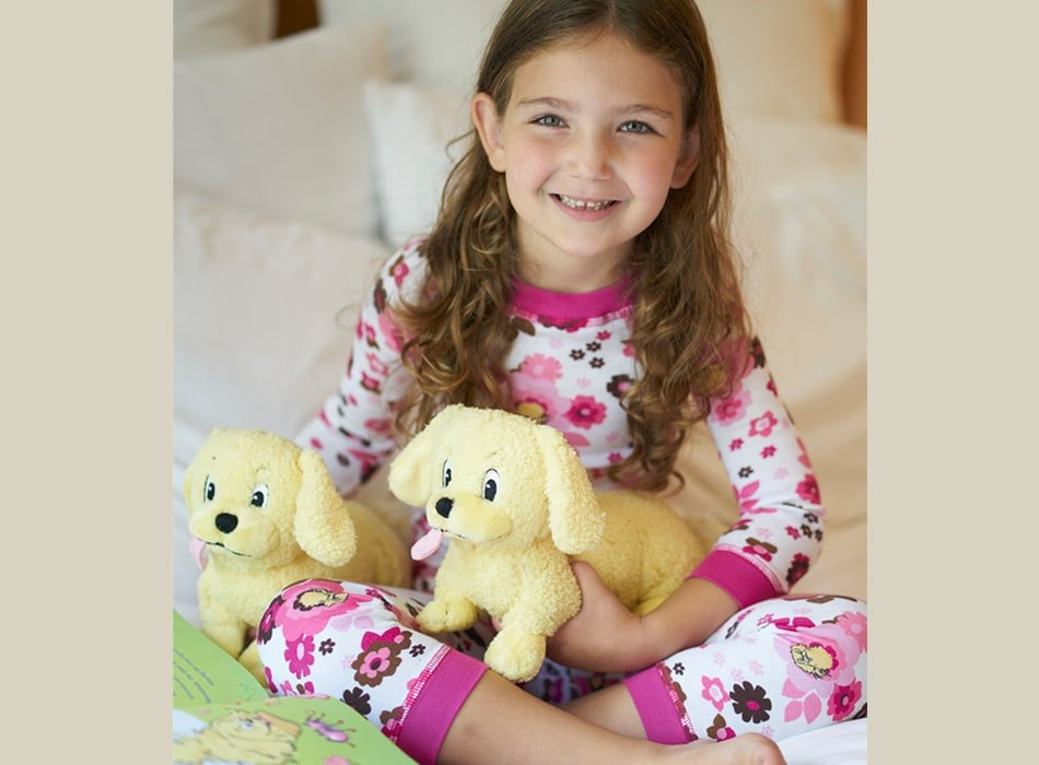 Girls Floral Organic Cotton Pajamas