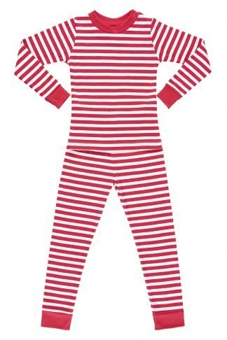 Long sleeve pajama with stripes