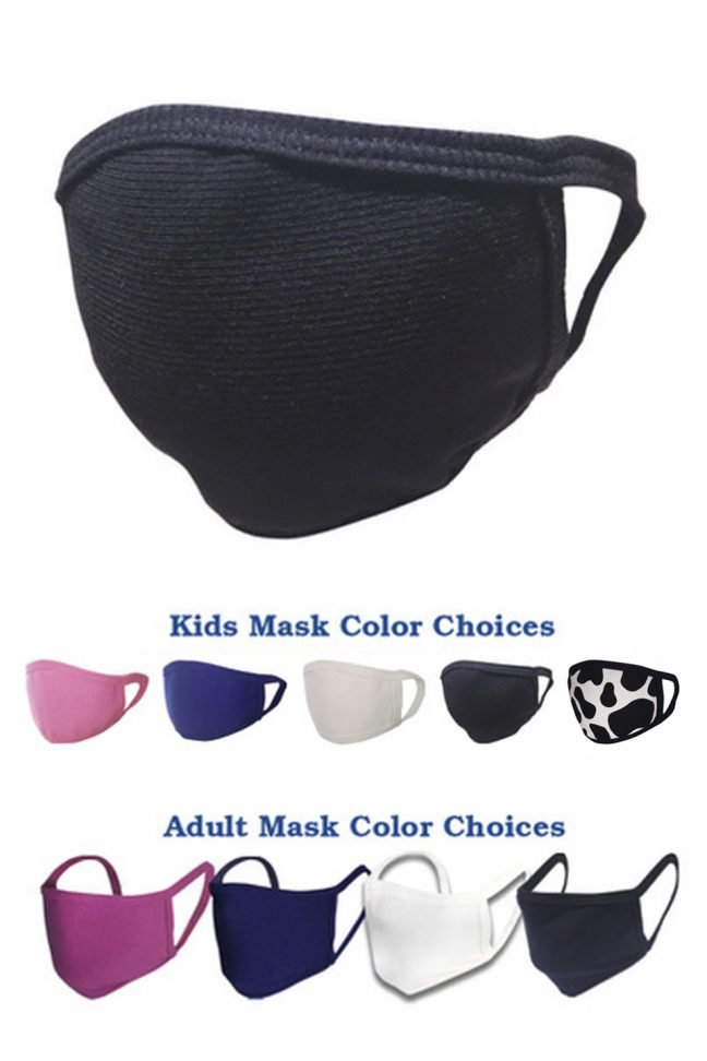 adult and kids face masks